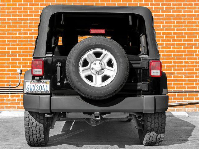 2012 Jeep Wrangler Unlimited Sport Burbank, CA 6