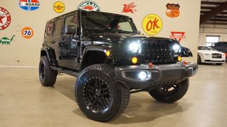 2012 Jeep Wrangler Unlimited Sahara 4X4 LIFTED,NAV,LED'S,HTD LTH,84K in Carrollton, TX 75006