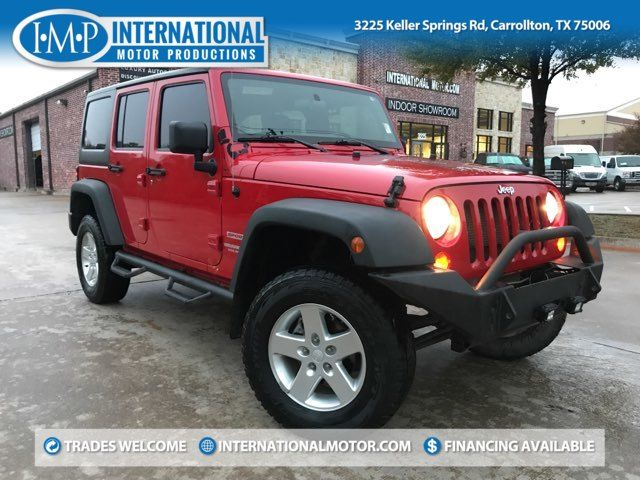 2012 Jeep Wrangler Unlimited Sport in Carrollton, TX 75006