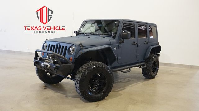 2012 Jeep Wrangler Unlimited Rubicon 4X4 DUPONT KEVLAR,LIFTED,BUMPERS,88K in Carrollton, TX 75006