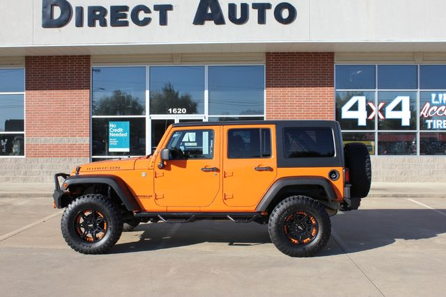 "2012 Jeep Wrangler Unlimited Rubicon 4"" LIFT KIT"
