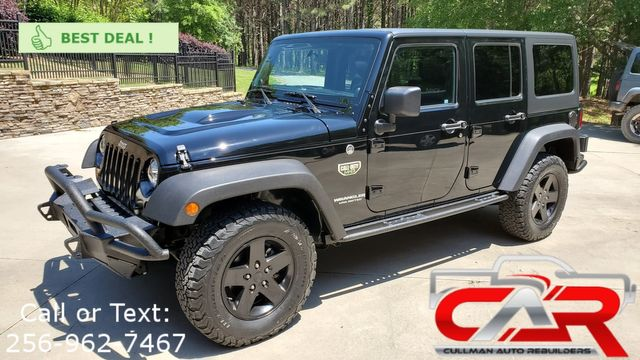 2012 Jeep Wrangler Unlimited Rubicon Call of Duty MW3
