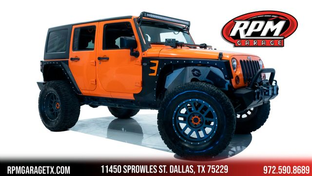 2012 Jeep Wrangler Unlimited Sport Lifted with Many Upgrades