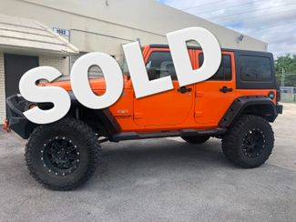 2012 Jeep Wrangler Unlimited Sahara in Dania Beach , Florida 33004