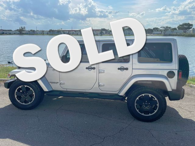 2012 Jeep Wrangler Unlimited 4WD 4dr