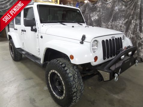 2012 Jeep Wrangler Unlimited Sahara in , ND