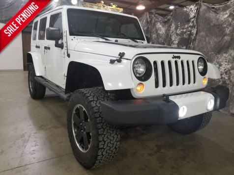 2012 Jeep Wrangler Unlimited  Sahara  Arctic 4x4 in Dickinson, ND