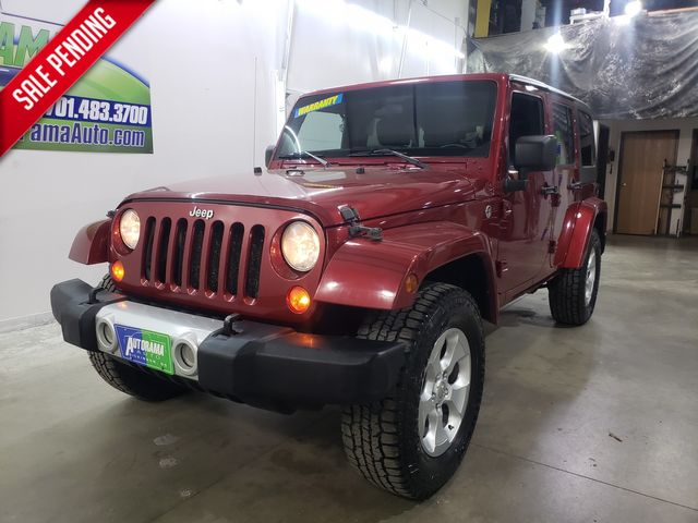 2012 Jeep Wrangler Unlimited Sahara Hard Top