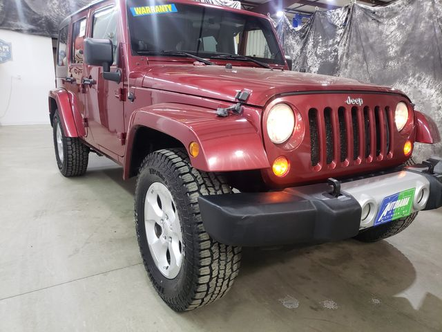 2012 Jeep Wrangler Unlimited Sahara Hard Top in Dickinson, ND 58601