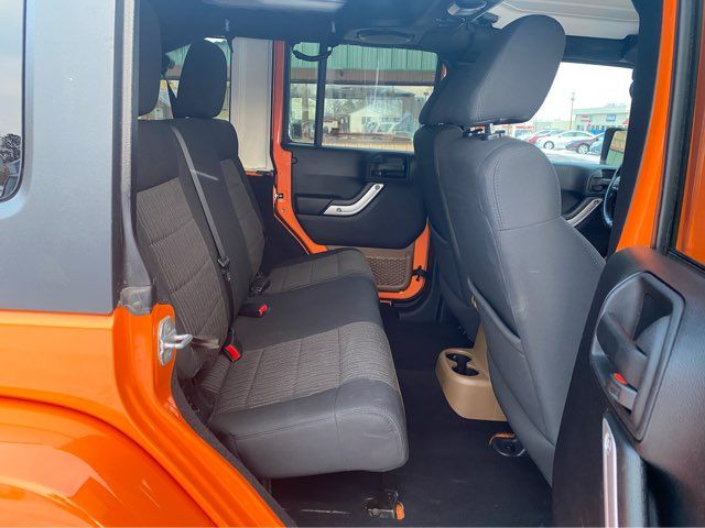 2012 Jeep Wrangler Unlimited Sahara in Dickinson, ND 58601