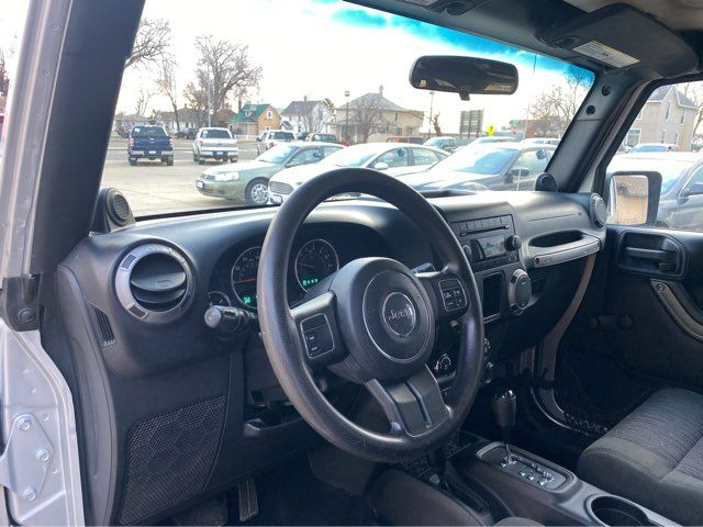 2012 Jeep Wrangler Unlimited Sport in Dickinson, ND 58601