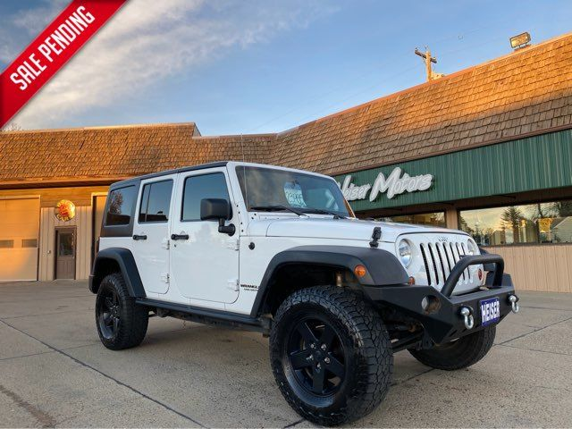 2012 Jeep Wrangler Unlimited Sport ONLY 69,000 Miles in Dickinson, ND 58601