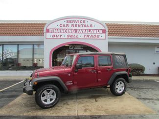 2012 Jeep Wrangler Unlimited Sport in Fremont OH, 43420