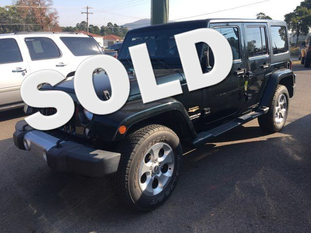 2012 Jeep Wrangler Unlimited Sahara - John Gibson Auto Sales Hot Springs in Hot Springs Arkansas