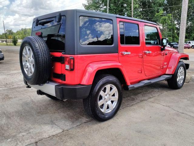 2012 Jeep Wrangler Unlimited Sahara Houston, Mississippi 4