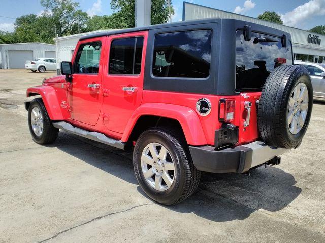 2012 Jeep Wrangler Unlimited Sahara Houston, Mississippi 5