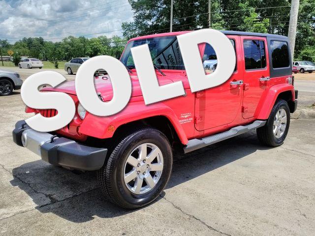 2012 Jeep Wrangler Unlimited Sahara Houston, Mississippi