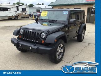2012 Jeep Wrangler Unlimited Sport 4WD in Lapeer, MI 48446