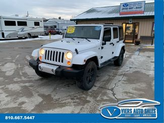 2012 Jeep Wrangler Unlimited Sahara 4WD in Lapeer, MI 48446