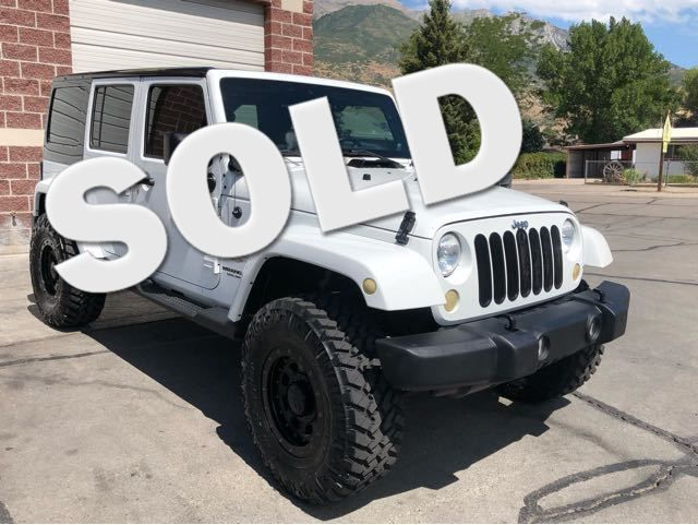 2012 Jeep Wrangler Unlimited Sahara LINDON, UT