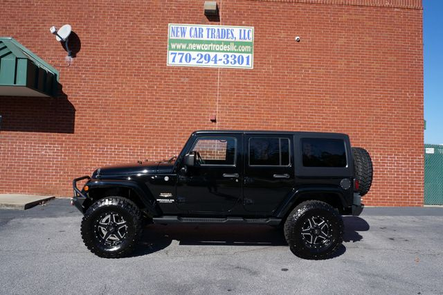 2012 Jeep Wrangler Unlimited Sahara in Loganville Georgia, 30052