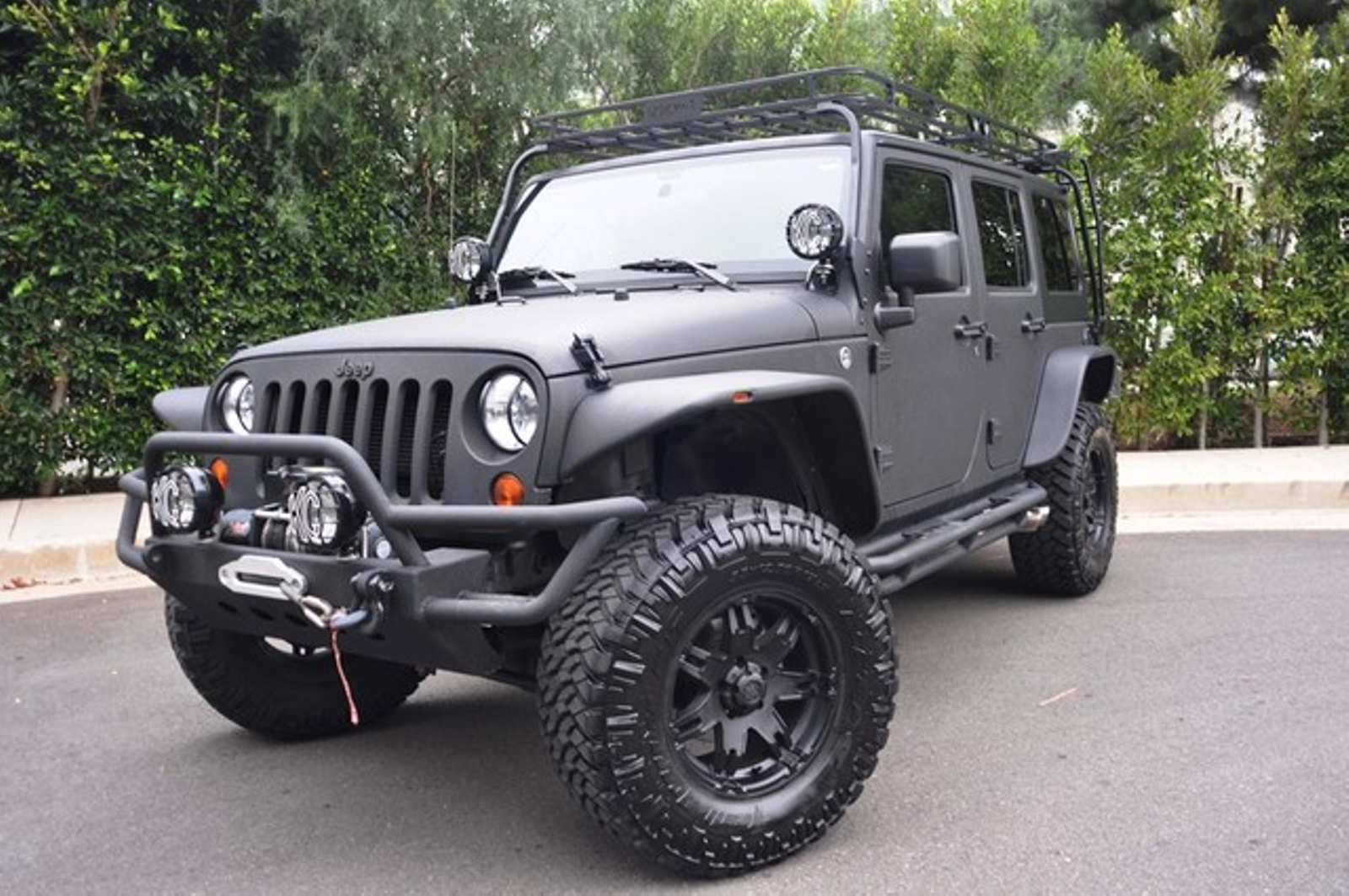 2012 Jeep Wrangler Unlimited Sport Conversion Great Mods Amazing Jeep city  California Auto Fitness Class Benz ...