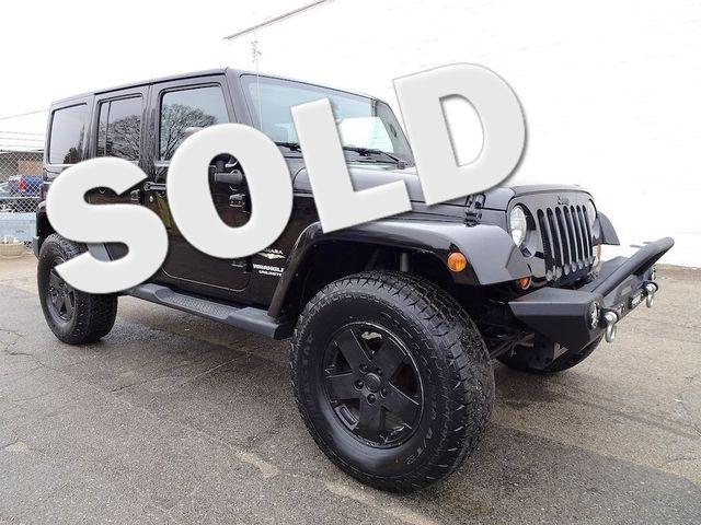 2012 Jeep Wrangler Unlimited Sahara Madison, NC 0