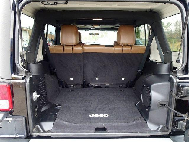 2012 Jeep Wrangler Unlimited Sahara Madison, NC 16