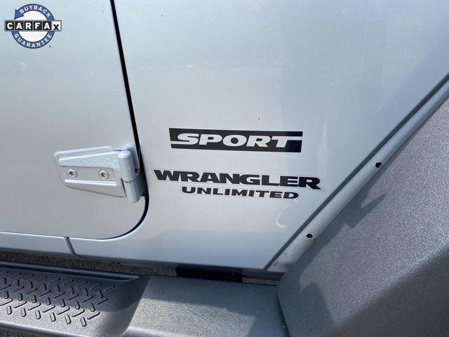 2012 Jeep Wrangler Unlimited Sport Madison, NC 7