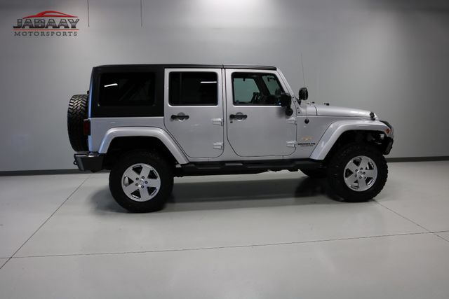 2012 Jeep Wrangler Unlimited Sahara Merrillville, Indiana 39