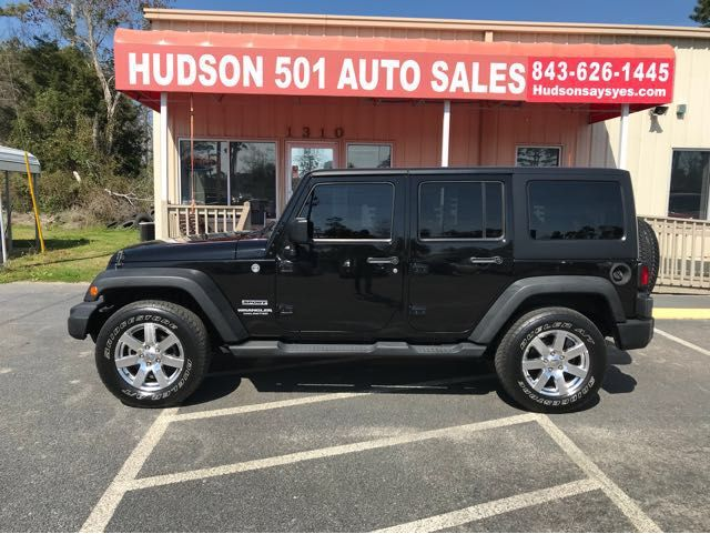 2012 Jeep Wrangler Unlimited in Myrtle Beach South Carolina