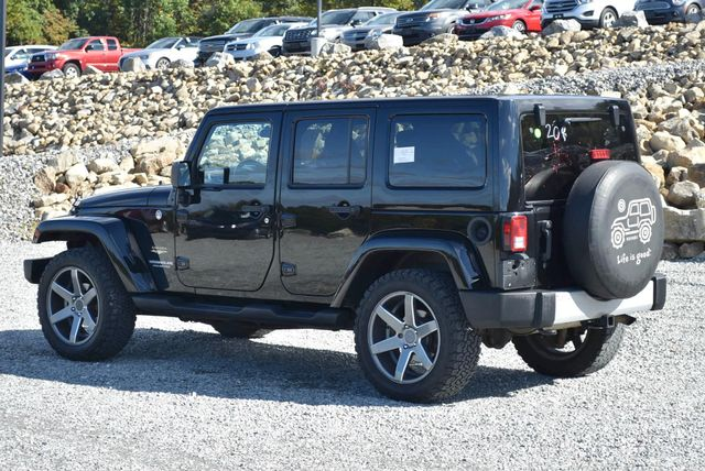 2012 Jeep Wrangler Unlimited Sahara Naugatuck, Connecticut 2