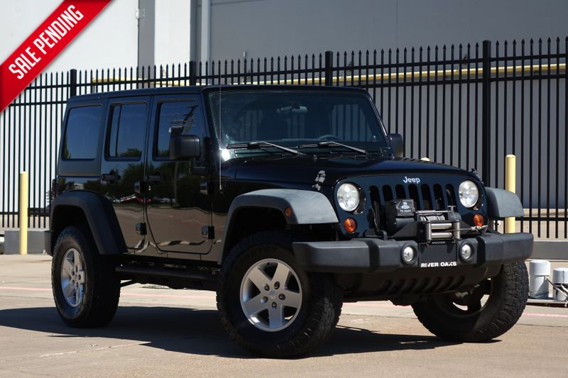 2012 Jeep Wrangler Unlimited Sport*Manual* Hardtop*4x4* | Plano, TX | Carrick's Autos in Plano TX