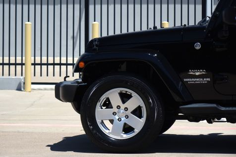 2012 Jeep Wrangler Unlimited Sahara* Soft Top* Auto* 4x4* Only 75kmi* EZ Finan* | Plano, TX | Carrick's Autos in Plano, TX