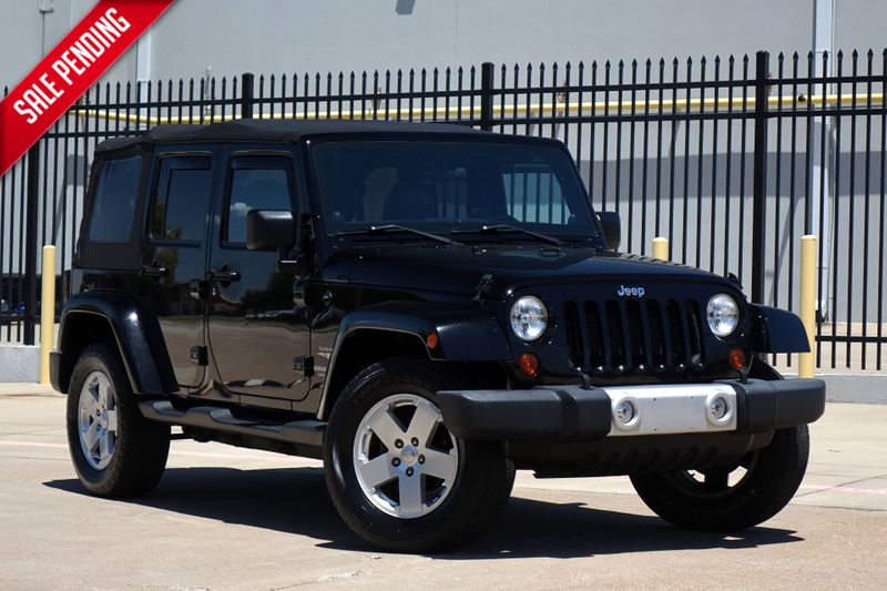 2012 Jeep Wrangler Unlimited Sahara* Soft Top* Auto* 4x4* Only 75kmi* EZ Finan* | Plano, TX | Carrick's Autos in Plano TX