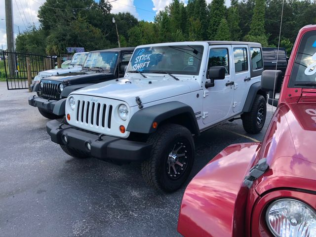 2012 Jeep Wrangler Unlimited Sport Riverview, Florida 1
