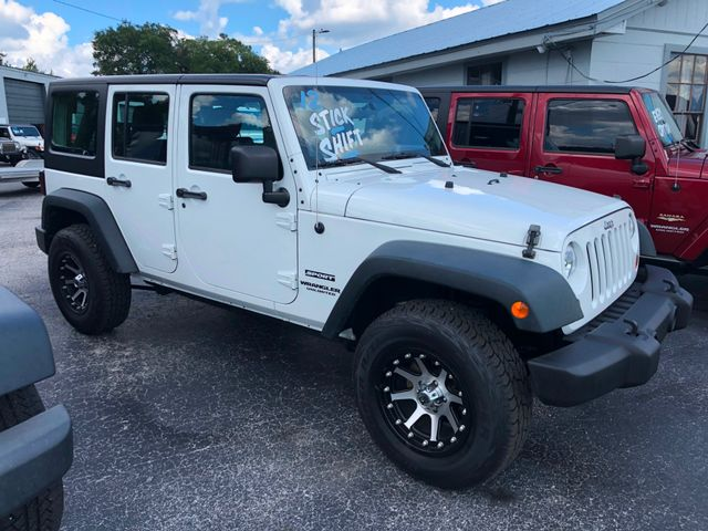 2012 Jeep Wrangler Unlimited Sport Riverview, Florida 3