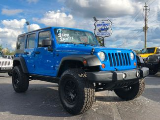 2012 Jeep Wrangler Unlimited Sport Riverview, Florida