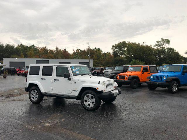 2012 Jeep Wrangler Unlimited Sahara Riverview, Florida 1