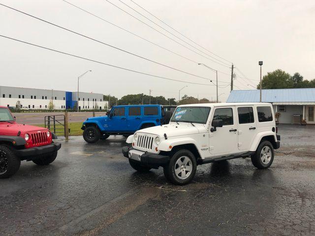 2012 Jeep Wrangler Unlimited Sahara Riverview, Florida