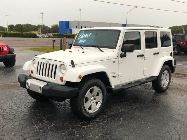 2012 Jeep Wrangler Unlimited Sahara Riverview, Florida 4