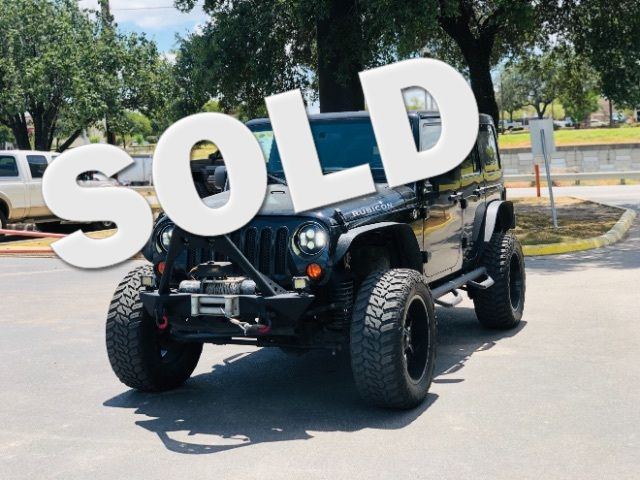 2012 Jeep Wrangler Unlimited Rubicon in San Antonio, TX 78233