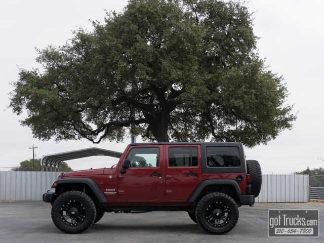 2012 Jeep Wrangler Unlimited Sport 3.6L V6 4X4