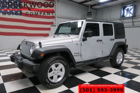 2012 Jeep Wrangler Unlimited Sport 4x4 Auto 4-Door Hardtop All Power Low Miles in Searcy, AR