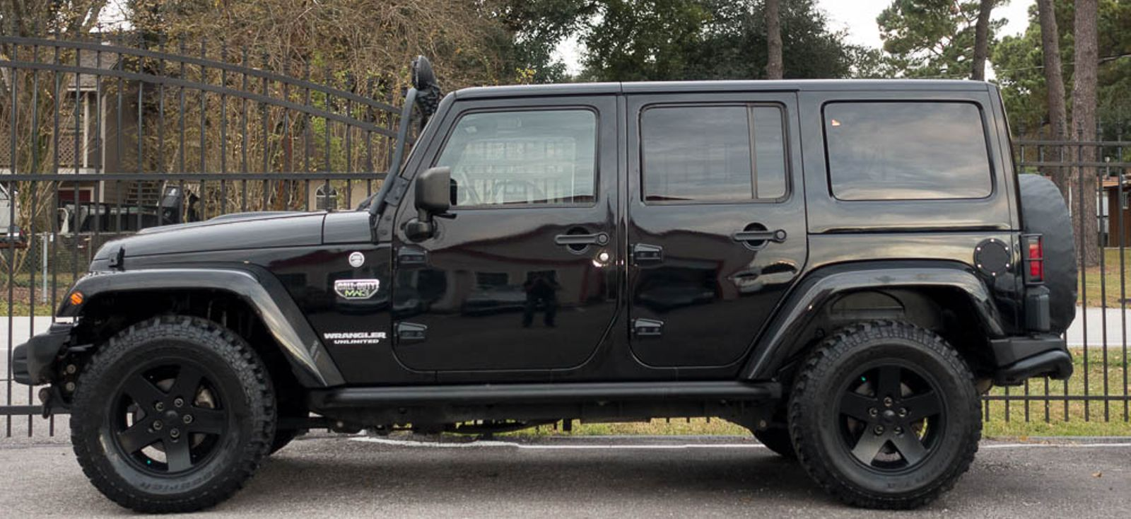 2012 Jeep Wrangler Unlimited Call Of Duty Mw3 Texas Euro 2