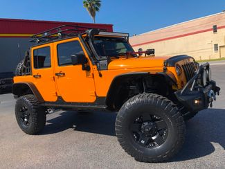 2012 Jeep Wrangler Unlimited CUSTOM LIFTED LEATHER WARN XD POISON SPYDER   Florida  Bayshore Automotive   in , Florida