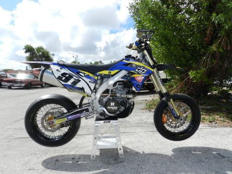 2012 Kawasaki KX 450F Supermoto in Hollywood, Florida