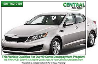 2012 Kia Optima LX | Hot Springs, AR | Central Auto Sales in Hot Springs AR