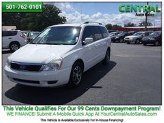 2012 Kia Sedona LX | Hot Springs, AR | Central Auto Sales in Hot Springs AR