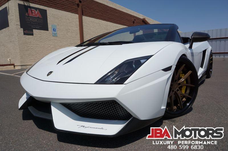2012 Lamborghini Gallardo Performante LP570 Spyder Superleggera Convertible   MESA, AZ   JBA MOTORS in MESA AZ